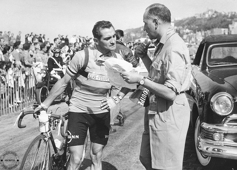Le Belge Alex Close et son directeur sportif
