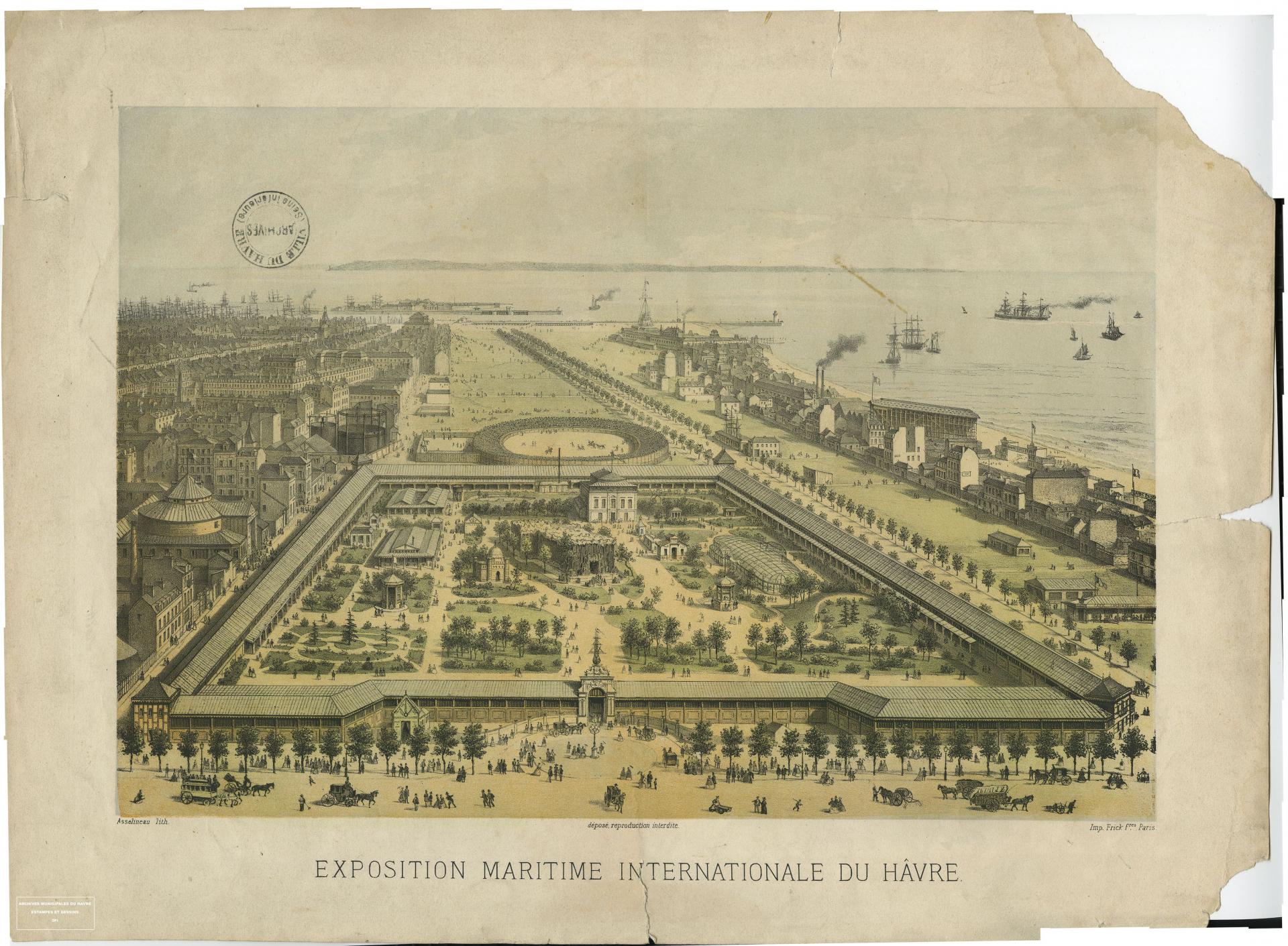 Exposition maritime internationale du Hâvre