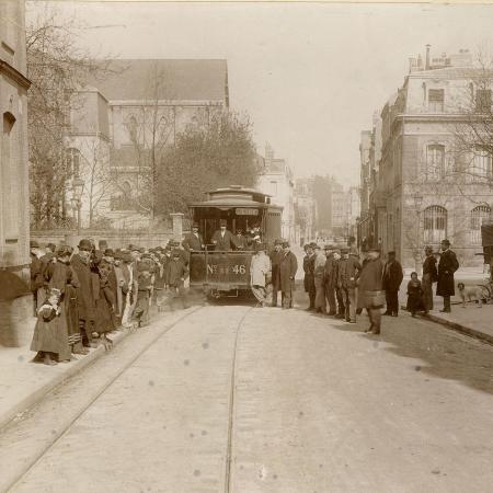 Le tramway au Havre des origines à 1951