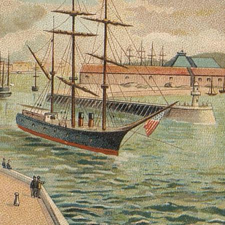 Le port au travail au début du XXe…
