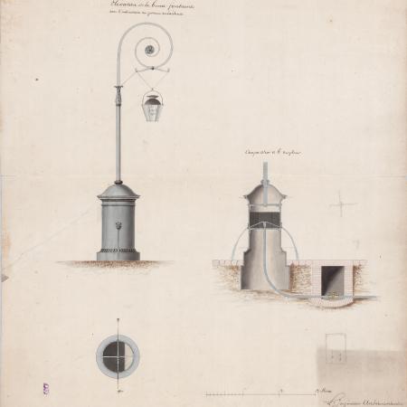 Projet d'une borne-fontaine