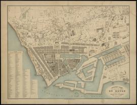 Nouveau plan de la ville et ses environs