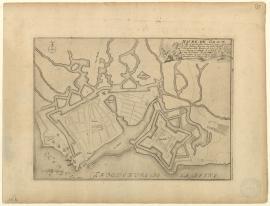 Plan du Havre de Grâce - XVIIe siècle.