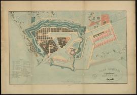 Plan général d'agrandissement du port et de la ville du Havre - Vers 1840.
