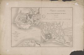 Plans de la ville du Havre aux débuts de la constructionPlans de la ville du Havre aux débuts de la construction