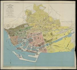 Plan de la ville et du port du Havre après l'annexion de Graville - Vers 1932