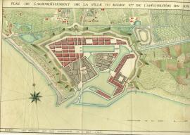 Plan de l'agrandissement de la ville du Havre et de l'amélioration de son
