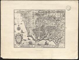 Plan de la ville et citadelle du Havre de Grace, 1673.