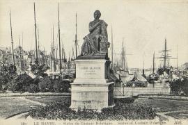 Statue de Casimir Delavigne