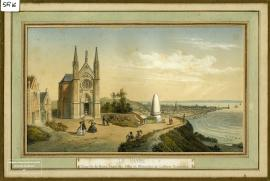 Le Havre, chapelle Notre-Dame des Flots et Monument de Lefèbvre-Desnoëttes