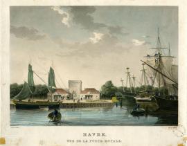 Le Havre. Vue de la porte Royale
