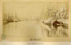 Le Havre. Bassin du Commerce et Grand-Théâtre