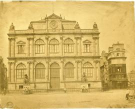 Le musée-bibliothèque avant 1893