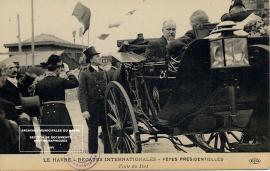 Visite officielle du président de la République Raymond Poincaré, juillet 1913.