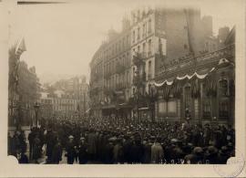 Retour du 129e régiment d'infanterie, 30 août 1919