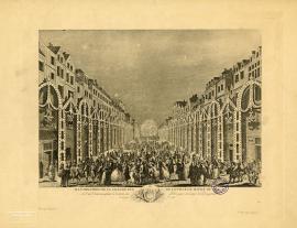Illumination de la grande rue de la ville du Havre de Grace (19-20 sept. 1749)