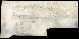 Charte des fondations de la Ville du Havre 1517
