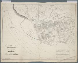 Le Havre. Plan topographique, 1946. Planche n°2, quartier Notre-Dame. (17/08, modifié le 15/10/1946)