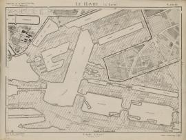 Le Havre. Plan topographique, 1946. Planche n°7, quartier de L'Eure. (17/08, modifié le 15/10/1946)