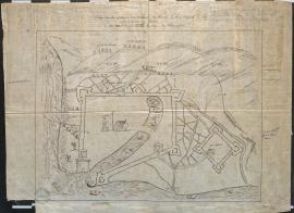 """Plan dit """"Warwick"""" pendant le siège du Havre, 15 juill"""