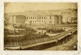 [Le Havre. Hôtel de ville en construction] (Avant 1859)