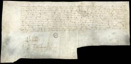 Commission délivrée à l'Amiral de Bonnivet pour construire le port du Havre (7 février 1517