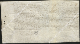 Attache des généraux des finances concernant le rattachement de treize paroisses au grenier à sel du Havre (18 avril 1518)