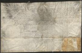 Confirmation à la ville de quatre ans du privilège sur la gabelle (2 novembre 1556)