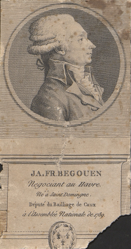 -Portrait de Jacques-François Bégouën, député du Bailliage de Caux, 1789 (inv. 2015.05, MAH)