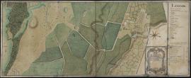 Plan de l'habitation du Héleu (CP Ch560)