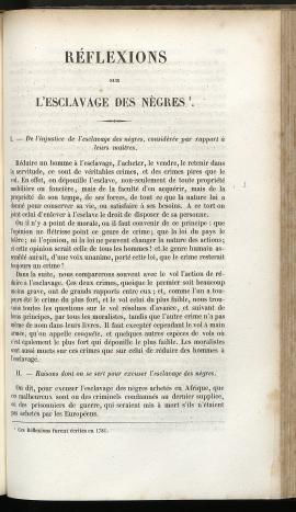 Réflexions sur l'esclavage des nègres, 1781 (Cha26, BMH)