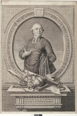 Portrait de l'Abbé Dicquemare (G. 270, MAH)