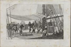 Traversée, danse des nègres (1888.1.7, MAH)