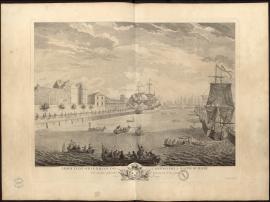 Le Roy étant sur le balcon des cazernes de la Marine du Havre voit exécuter différentes manœuvres et un joute, le 20 septembre 1749.