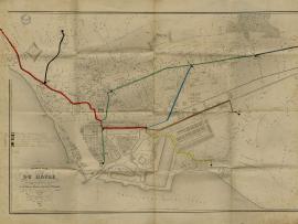 Projet de réseau des omnibus hippomobiles du Havre, septembre 1858 (2Ifm7-5)