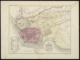 Plan du Havre, 1854 (1Fi148)