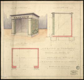 Projet de kiosque, 1938 (2Fi47)