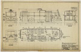 Trolleybus Vetra CS 60 R type Le Havre, 1943 (2Fi326)